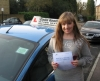 Chloe Payne passed with Colin Kentish Driver Training