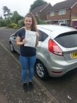 Zoe French passed with Colin Kentish Driver Training