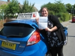 Valerie Seminario passed with Colin Kentish Driver Training