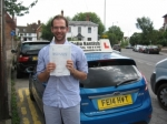Henry Swales passed with Colin Kentish Driver Training