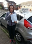 Sarah Bedford passed with Colin Kentish Driver Training
