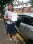 Sarah Hopson passed with Colin Kentish Driver Training