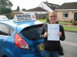 Samantha Nix passed with Colin Kentish Driver Training