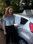 Amy Ashworth passed with Colin Kentish Driver Training