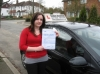 Victoria Ball passed with Colin Kentish Driver Training