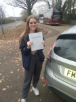 Lotte Holder passed with Colin Kentish Driver Training