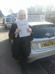 Lily Baker passed with Colin Kentish Driver Training