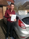 James Taylor passed with Colin Kentish Driver Training
