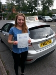 Claudia Wynter passed with Colin Kentish Driver Training