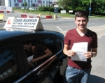 Tom Hordle passed with Colin Kentish Driver Training