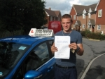 Sam Hibbins passed with Colin Kentish Driver Training