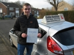 Jamie Colson passed with Colin Kentish Driver Training