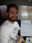 Shaun Babbage passed with Colin Kentish Driver Training