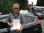 Patrick Obenita passed with Colin Kentish Driver Training