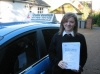Finuala Alexander passed with Colin Kentish Driver Training