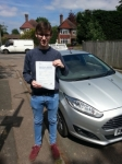 Jack Marcroft passed with Colin Kentish Driver Training