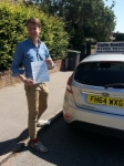 Tim Harris passed with Colin Kentish Driver Training