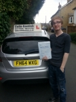 James Gowie passed with Colin Kentish Driver Training