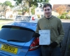 James Hutchinson passed with Colin Kentish Driver Training