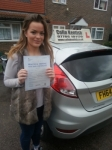 Emily Maher passed with Colin Kentish Driver Training