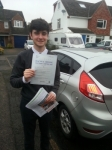 Adam McGroarty passed with Colin Kentish Driver Training