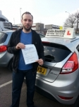 Richard Elliff passed with Colin Kentish Driver Training