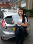 Sophia Hornsby passed with Colin Kentish Driver Training