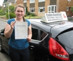 Hannah Willans passed with Colin Kentish Driver Training