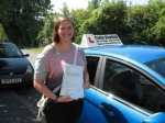 Caitlin Tytler passed with Colin Kentish Driver Training