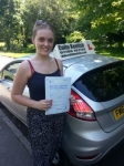 May Storey passed with Colin Kentish Driver Training