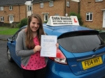 Hannah Gould passed with Colin Kentish Driver Training