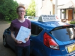 Rory Alexander passed with Colin Kentish Driver Training