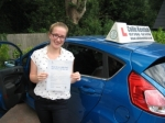 Zoe Wellbelove passed with Colin Kentish Driver Training
