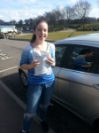 Thea Beadle passed with Colin Kentish Driver Training