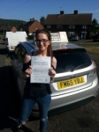 Roisin McEwen passed with Colin Kentish Driver Training