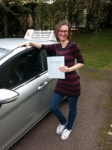 Eva Gaszewska passed with Colin Kentish Driver Training
