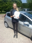 Sarah Exall passed with Colin Kentish Driver Training