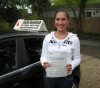 Liana Berkeley-Hill passed with Colin Kentish Driver Training