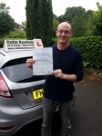 Will Nolan passed with Colin Kentish Driver Training