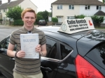 Simon Funnell passed with Colin Kentish Driver Training