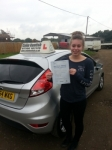 Sarah Kew passed with Colin Kentish Driver Training