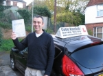 Medet Ali passed with Colin Kentish Driver Training
