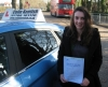 Emily Wetz passed with Colin Kentish Driver Training