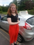 Lucy Brittin passed with Colin Kentish Driver Training