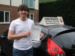 Joe Molloy passed with Colin Kentish Driver Training