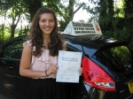 Molly Walsh passed with Colin Kentish Driver Training