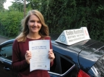 Esme Wood passed with Colin Kentish Driver Training