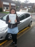 Hannah Quinton-Hale passed with Colin Kentish Driver Training