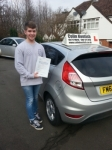 Louis Willumsen passed with Colin Kentish Driver Training