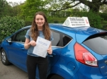 Lizzie Mayes passed with Colin Kentish Driver Training